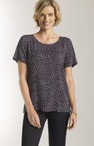 J. Jill Dot print short-sleeve top