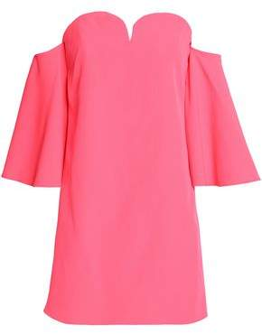 Milly Off-the-shoulder Cady Mini Dress