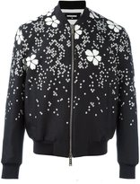 DSQUARED2 'Tokyo' flower bomber jacket
