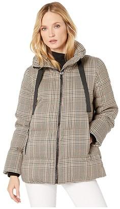 London Fog Penelope Heritage Puffer Jacket (Plaid) Women's Coat