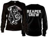 Sons Of Anarchy Long Sleeve T Shirt Reaper Crew new Official Mens