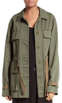 Theory Women's Thornwood Washed Chino Jacket