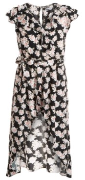 Epic Threads Big Girls Daisy Walk-Through Romper Dress, Created For Macy's