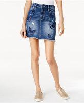 Buffalo David Bitton Embroidered Mini Skirt