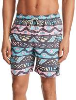 Maui and Sons Tribal Quest Swim Trunks
