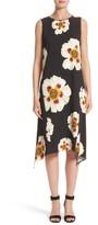 Lafayette 148 New York Women's Romona Floral Fluid Cloth Dress