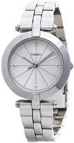 Timex Greenwich Silver-Tone Watch - Stainless Steel Bracelet (For Women)