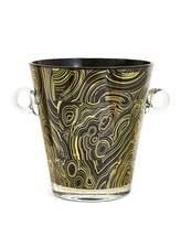 Jonathan Adler Malachite-Pattern Ice Bucket