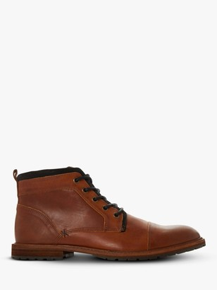 Dune Crawshaw Leather Chukka Boots