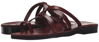 Jerusalem Sandals Ariel - Womens (Brown) Women's Shoes