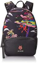 Love Moschino Surfing Octopus Print Backpack