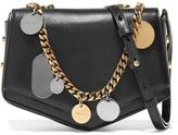 Jimmy Choo Arrow Embellished Textured-leather Shoulder Bag - Black
