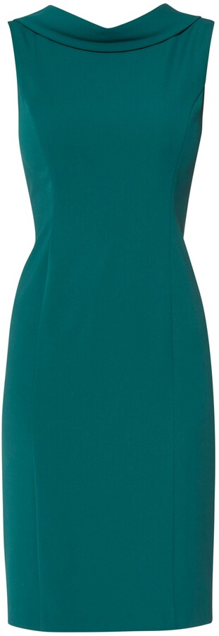 Thumbnail for your product : Gina Bacconi Stephanie Roll Collar Dress
