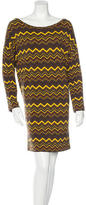 M Missoni Geometric Print Mini Dress