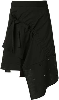 BAPY BY *A BATHING APE® Asymmetric Embellished Skirt
