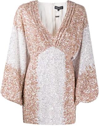 retrofete Sequin-Embellished Mini Dress