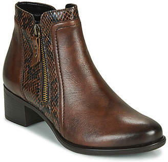 Remonte Dorndorf women's Low Ankle Boots in Brown