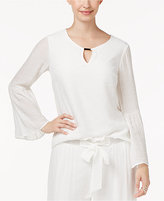 Thalia Sodi Bell-Sleeve Top, Created for Macy's