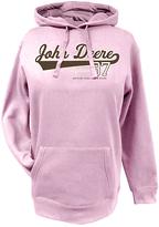 John Deere Pink 'Eighteen 37' Fleece Hoodie - Plus Too