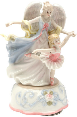 Cosmos Gifts Corp. Ballerina With Angel Musical Box