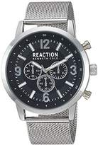 Kenneth Cole Reaction Men's Quartz Metal and Stainless Steel Casual Watch, Color:Silver-Toned (Model: RKC0218001)