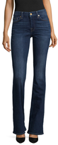 7 For All Mankind Embroidered Pocket Flared Jean