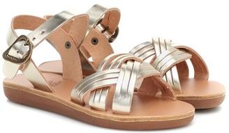 Ancient Greek Sandals Kids Little Electra leather sandals