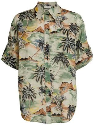 Zimmermann Tropical Print Juliette Shirt