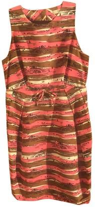 Orla Kiely Pink Cotton Dress for Women