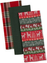 Woodland Christmas Set of 3 Kitchen Towels