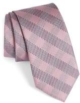 Brioni Men's Grid Silk Tie