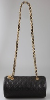 Wgaca Vintage Vintage Chanel Double Chain Tube Bag