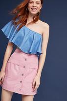 Dusen Dusen Rose Tile Mini Skirt