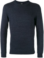 A.P.C. crew-neck sweater - men - Cotton/Acrylic/Polyester - XXL