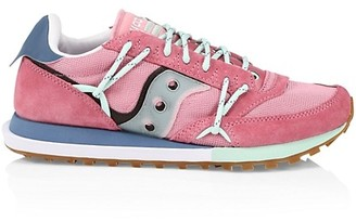Saucony Abstract Jazz Mixed-Media Sneakers