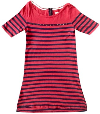 Tommy Jeans Red Cotton Dresses