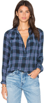 Rebecca Taylor Long Sleeve Plaid Top