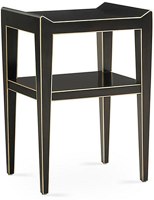 Bunny Williams Home Adele Side Table - Ebony