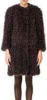 Max Studio Curly Fur Coat