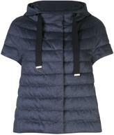 Herno short-sleeve padded jacket