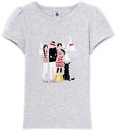 Petit Bateau Girls T-shirt with motif