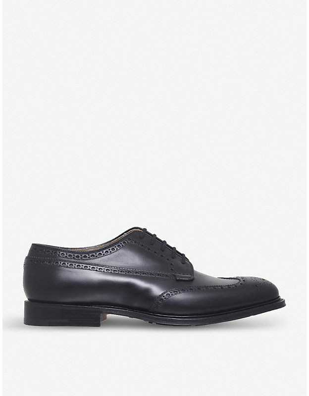 Church's Thickwood leather derby shoes