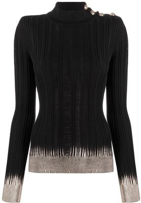 Balmain Buttoned Knit Jumper