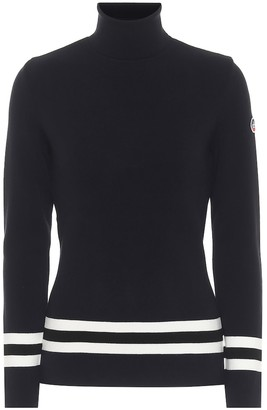 Fusalp Judith striped turtleneck sweater
