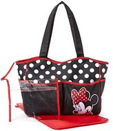 Disney Minnie Mouse Polka Dot 4 Poster Tote Diaper Bag by
