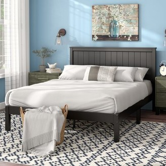 Laurel Foundry Modern Farmhouse Letha Solid Wood Platform Bed Size: Full