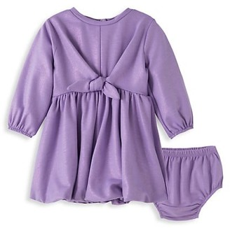 Habitual Baby Girl's 2-Piece Madeline Foil Bubble Dress & Bloomers Set