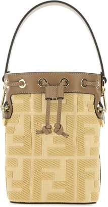 Fendi Small Mon Tresor Bucket Bag