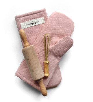 The Organic Company - Oven Mitts Pale rose - pale rose | organic cotton - Pale rose