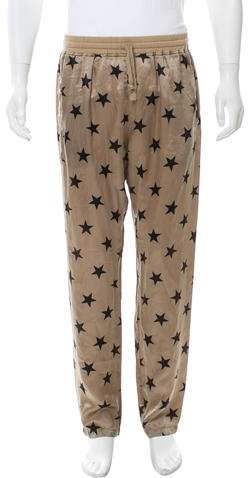 Faith Connexion Silk Star Print Pants